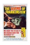 The Revenge of Frankenstein  (Aka La Revanche De Frankenstein)  Top: Michael Gwynn  1958