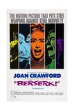 Berserk  Diana Dors (Blue)  Joan Crawford (Orange)  Michael Gough (Green)  1967
