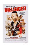 Dillinger  from Left: Michelle Phillips  Warren Oates  Ben Johnson  1973