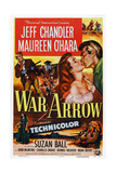 War Arrow  from Left: Jeff Chandler  Maureen O'Hara  Jeff Chandler  1953