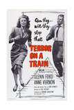Terror on a Train  (Aka Time Bomb)  from Left: Anne Vernon  Glenn Ford  1953