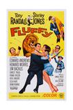 Fluffy  Howard Morris (Axe)  Embracing from Left: Tony Randall  Shirley Jones  1965