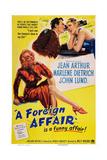 A Foreign Affair  Marlene Dietrich  John Lund  Jean Arthur  1948