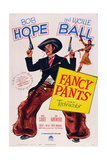 Fancy Pants  Center: Bob Hope: Right: Lucille Ball  1950