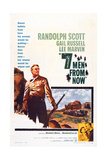 Seven Men from Now  (Aka 7 Men from Now)  Left: Randolph Scott  1956