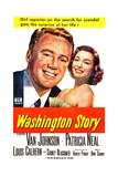 Washington Story  from Left: Van Johnson  Patricia Neal  1952