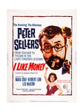 Mr Topaze  (Aka I Like Money)  Bottom: Nadia Gray; Top: Peter Sellers  Nadia Gray  1961