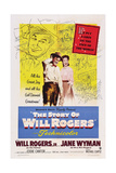 The Story of Will Rogers  from Left: Will Rogers Jr  Jane Wyman  1952