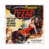 River Lady  Facing Front from Left: Yvonne De Carlo  Rod Cameron  1948
