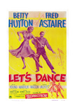 Let's Dance  from Left: Betty Hutton  Fred Astaire  1950