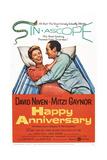 Happy Anniversary  from Left: Mitzi Gaynor  David Niven  1959