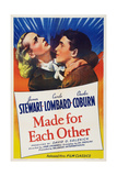 Made for Each Other  from Left: Carole Lombard  James Stewart  1939