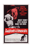 The Big Operator  (Aka Anatomy of a Syndicate)  Top from Left: Mamie Van Doren  Mickey Rooney  1959