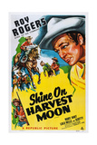 Shine on Harvest Moon  Top Left and Right: Roy Rogers  1938