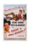 Never a Dull Moment  from Left: Fred Macmurry  Top: Irene Dunne  1950