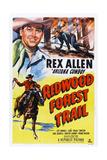 Redwood Forest Trail  Rex Allen  1950