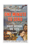 One Minute to Zero  from Left: Ann Blyth  Robert Mitchum  1952