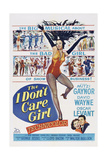 The I Don't Care Girl  Mitzi Gaynor  1953
