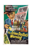 The Crime Doctor's Warning  Warner Baxter  1945