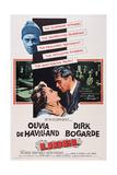 Libel  from Left: Olivia De Havilland  Dirk Bogarde  1959