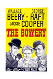 The Bowery  from Left: George Raft  Jackie Cooper  Wallace Beery  1933