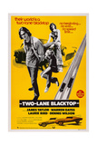 Two-Lane Blacktop  from Left: James Taylor  Laurie Bird  Dennis Wilson  1971