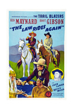 The Law Rides Again  Chief Thundercloud  Ken Maynard  Hoot Gibson  Betty Miles  1943