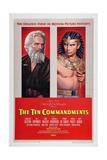 The Ten Commandments  from Left: Charlton Heston  Yul Brynner  1956