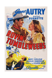 Rovin' Tumbleweeds  Top from Left: Gene Autry  Mary Carlisle  1939