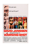 Warning Shot  David Janssen  (Left)  Eleanor Parker  (Second Right)  Stefanie Powers  (Right)  1967