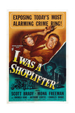 I Was a Shoplifter  from Left: Mona Freeman  Scott Brady  Mona Freeman  1950
