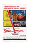 Sons and Lovers  Top Insert: Dean Stockwell with Mary Ure and Heather Sears  1960