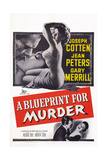 A Blueprint for Murder  Joseph Cotten  Jean Peters  1953