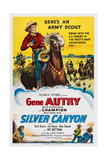 Silver Canyon  Top: Gene Autry  Champion  the Horse  1951