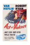 Act of Violence  Robert Ryan  Janet Leigh  Van Heflin  1948