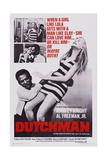 Dutchman  Top L-R: Shirley Knight  Al Freeman Jr  Bottom L-R: Al Freeman  Jr Shirley Knight  1967