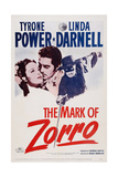 The Mark of Zorro  from Left: Linda Darnell  Tyrone Power  1940