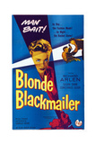 Blonde Blackmailer  (Aka Stolen Time)  Susan Shaw (Center)  1955