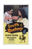 South of Monterey  Top L-R: Gilbert Roland  Marjorie Riordan  Bottom: Frank Yaconelli  1946