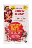 Show Boat  from Top: Howard Keel  Ava Gardner  Kathryn Grayson  1952