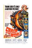 Crack in the World  Dana Andrews (Bottom Left)  1965