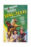 Song of Texas  from Left: Roy Rogers  Sheila Ryan  Roy Rogers  1943