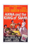Anna and the King of Siam  from Left: Linda Darnell  Rex Harrison  Irene Dunne  1946