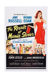 The Revolt of Mamie Stover  Left: Richard Egan; Right: Jane Russell  1956