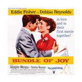Bundle of Joy  L-R: Eddie Fisher  Debbie Reynolds  1956