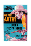 Under Fiesta Stars  Gene Autry  1941