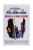 Behold a Pale Horse  L-R: Gregory Peck  Anthony Quinn  Omar Sharif  1964