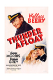 Thunder Afloat  Wallace Beery (Top)  Bottom from Left: Virginia Grey  Chester Morris  1939