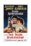 We Were Strangers  L-R: Jennifer Jones  John Garfield  1949