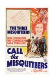 Call the Mesquiteers  Robert Livingston  Max Terhune  Ray Corrigan  1938